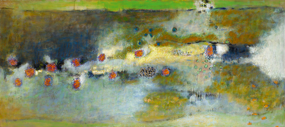 Fluid Earth II | oil on canvas | 36 x 80"