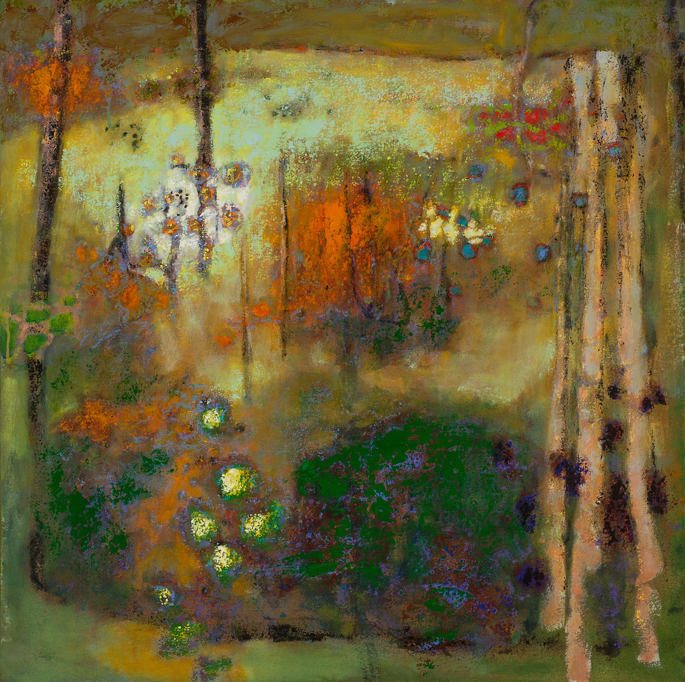 Weightless Morning | oil on canvas | 32 x 32"