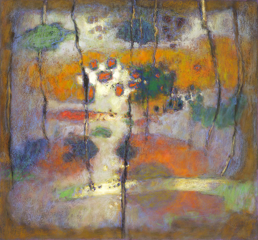 Dimensional Beginnings   | pastel on paper | 24 x 26"