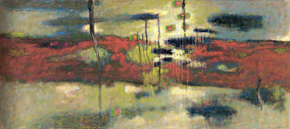 Above All   | oil on canvas | 36 x 80"