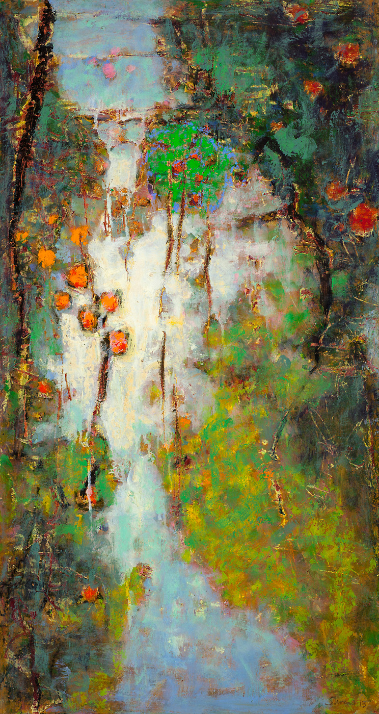 Dream With Me   | oil on canvas | 28 x 15"