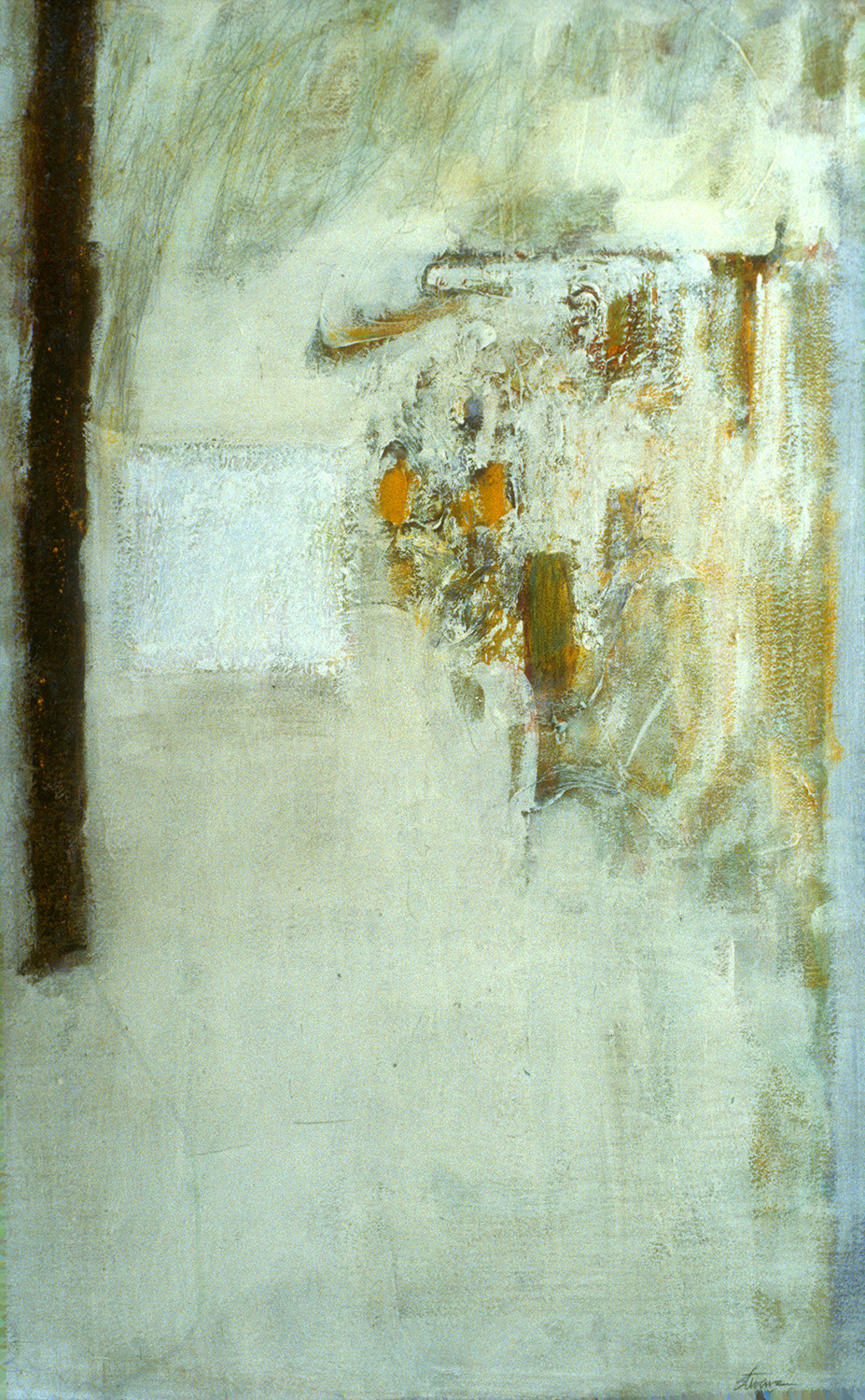 Covered Earth   | oil on canvas | 39 x 23"