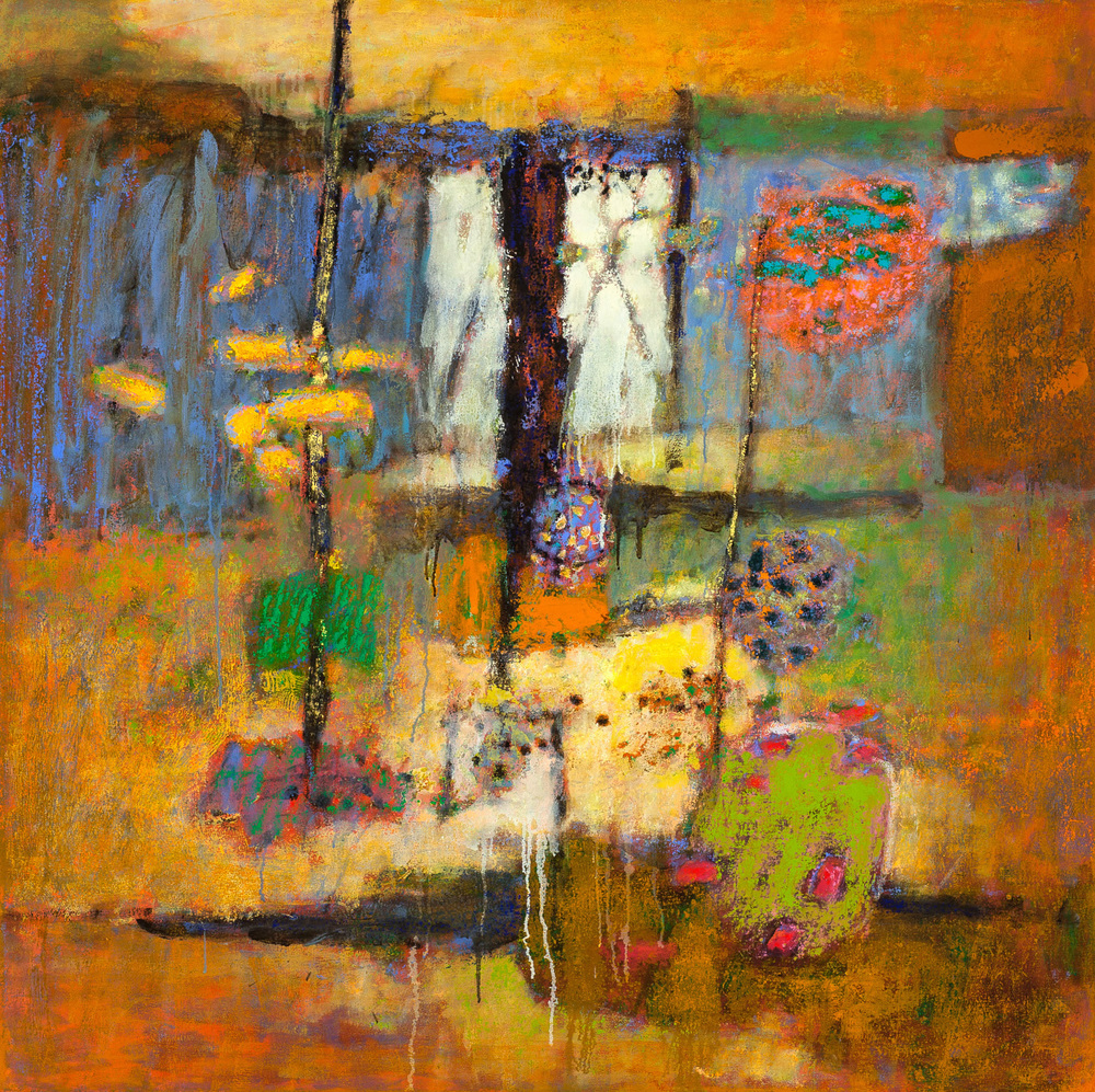 Luminous Visions | oil on canvas | 48 x 48"