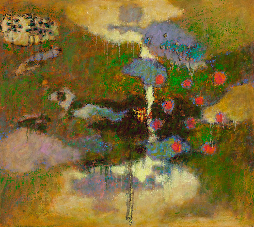 Lake Unto the Clouds   | oil on canvas | 36 x 40"