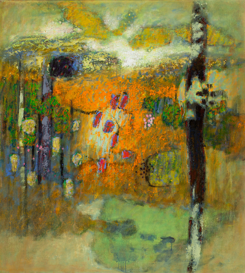 Interwoven Life   | oil on canvas | 40 x 36"