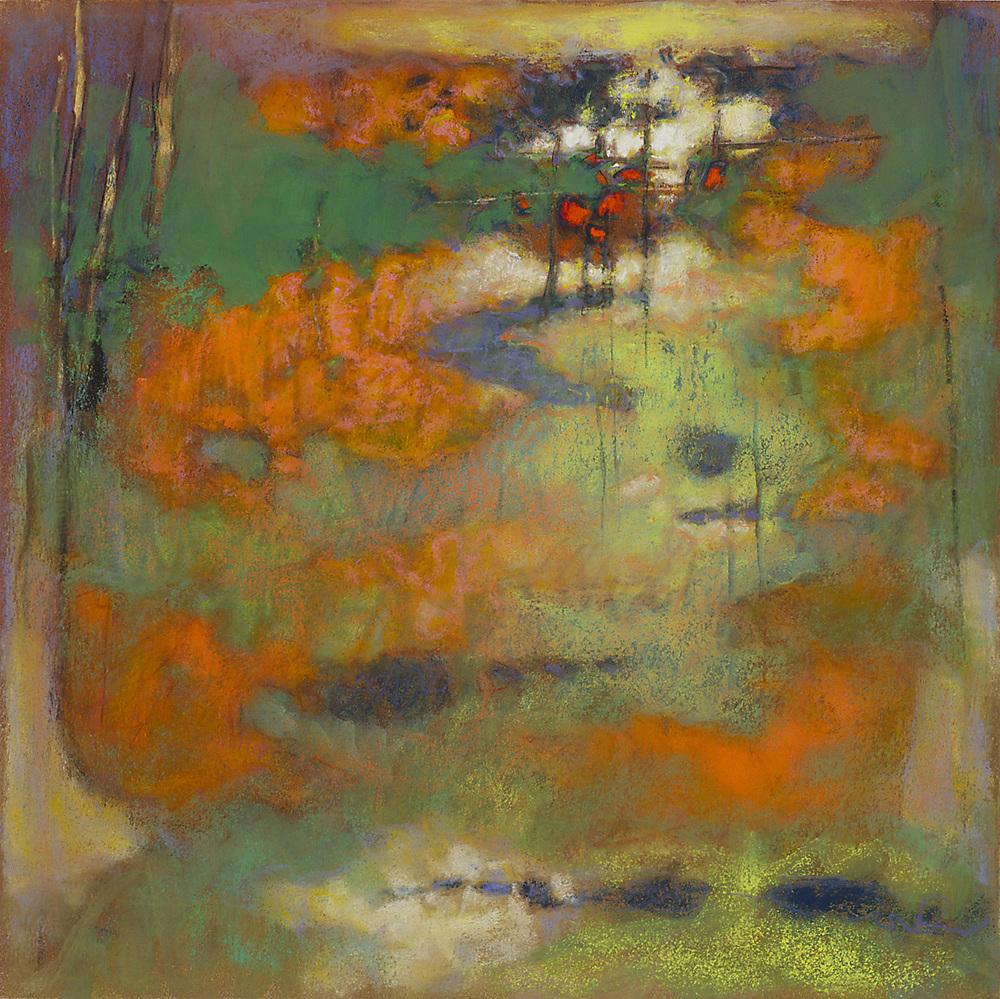"88-13   | pastel on paper | 14x 14"" | 2013"