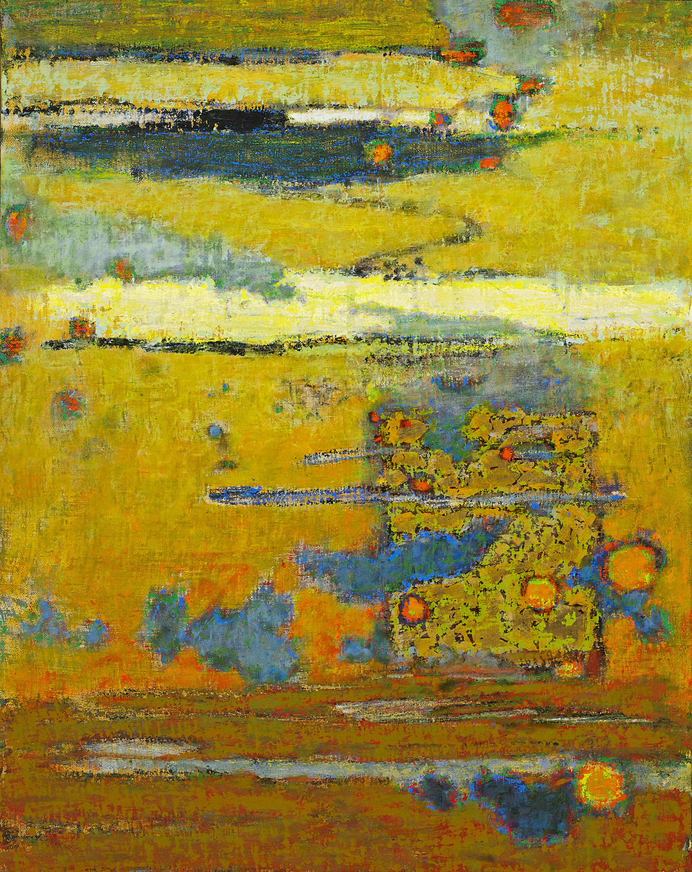 Waning Hours | oil on canvas | 28 x 22"