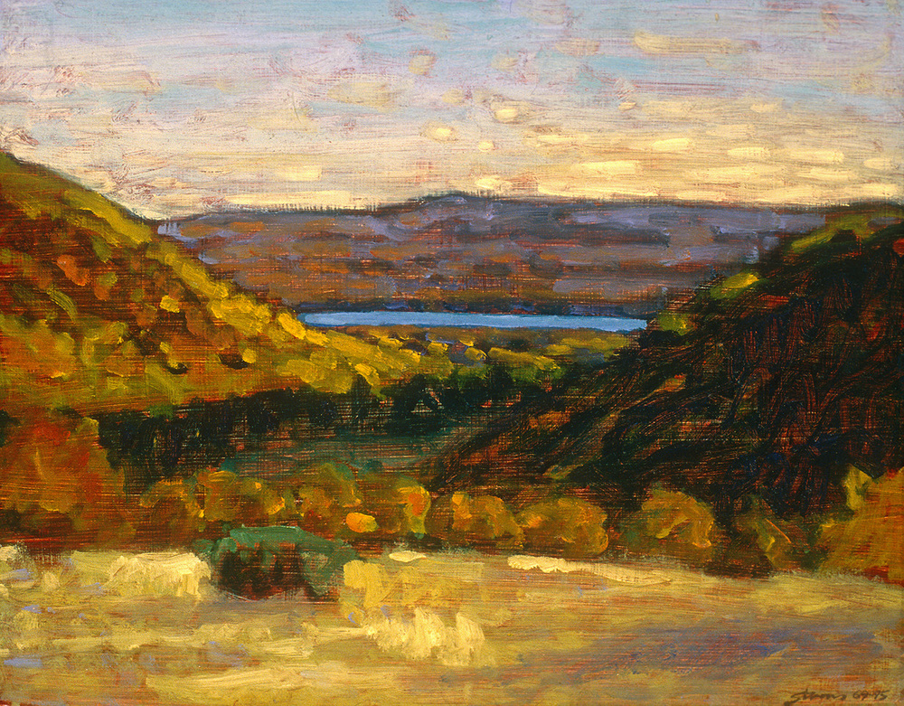 Good Harbor Overview   | oil on panel | 12 x 16"