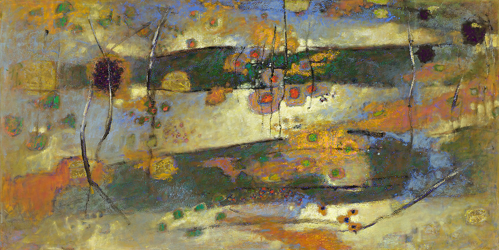 Multiplicity   | oil on canvas | 48 x 96"