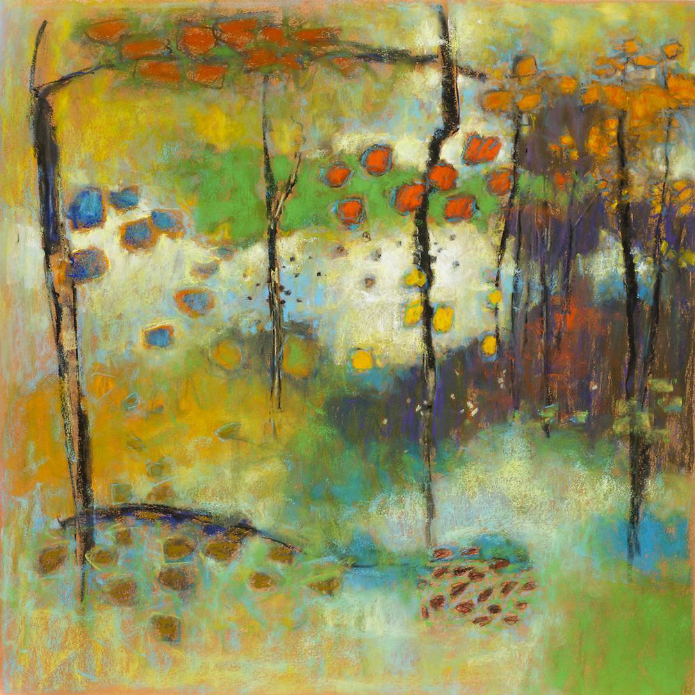 "101-13 | pastel on paper | 24 x 24"" | 2013"