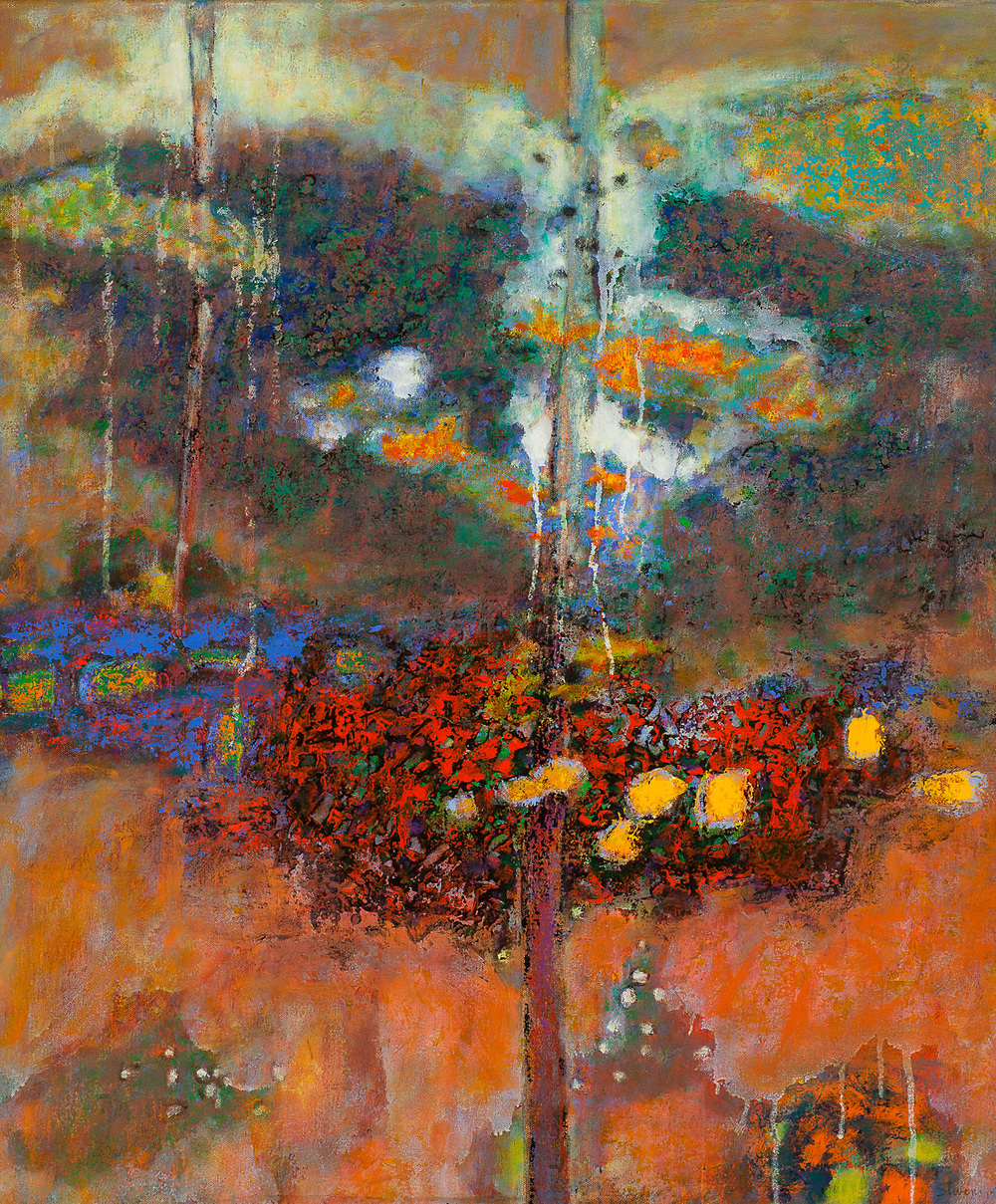 Conditional Arising   | oil on canvas | 30 x 25"