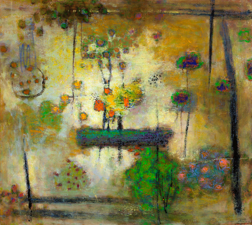 Resourceful Adaptation | oil on canvas | 36 x 40"