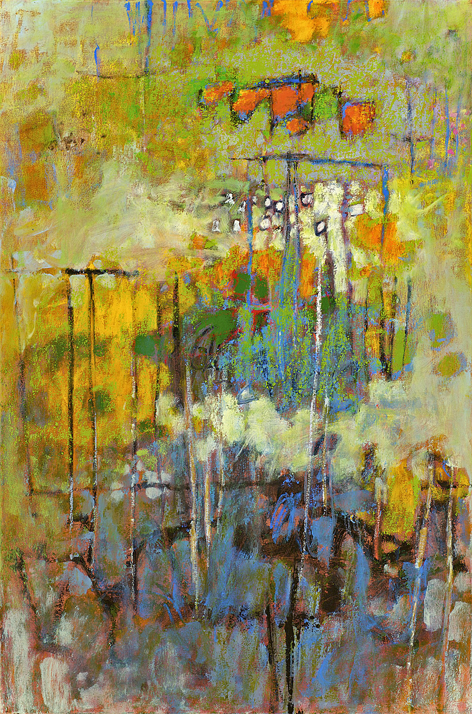 Infinite Garden   | oil on canvas | 48 x 32"