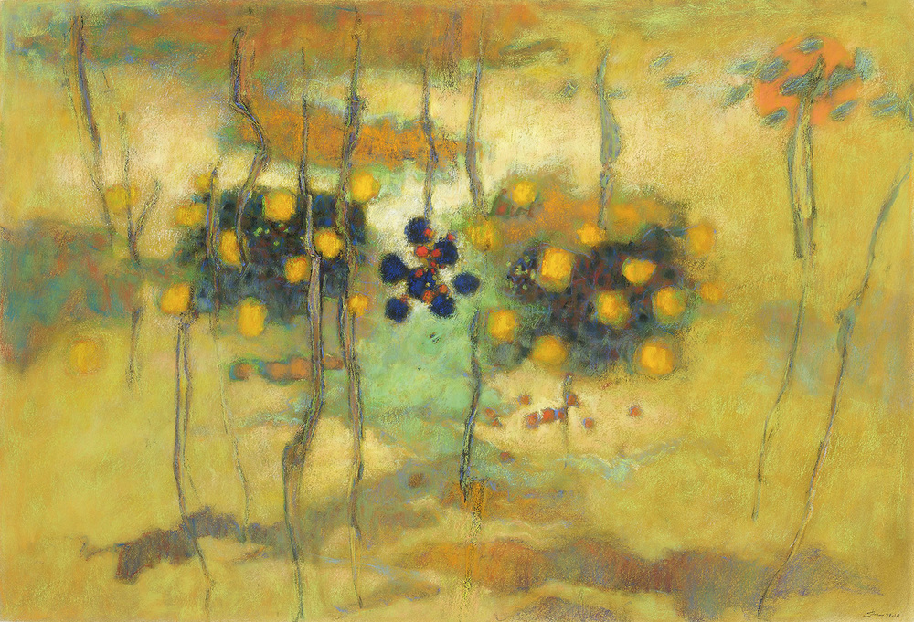 Come to Me Great Mystery   | pastel on paper | 30 x 44"