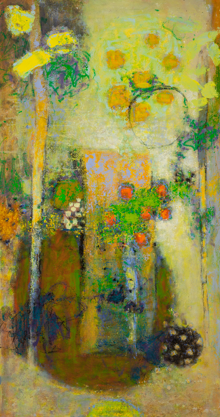 Opening to New Perspectives   | oil on canvas | 45 x 24"