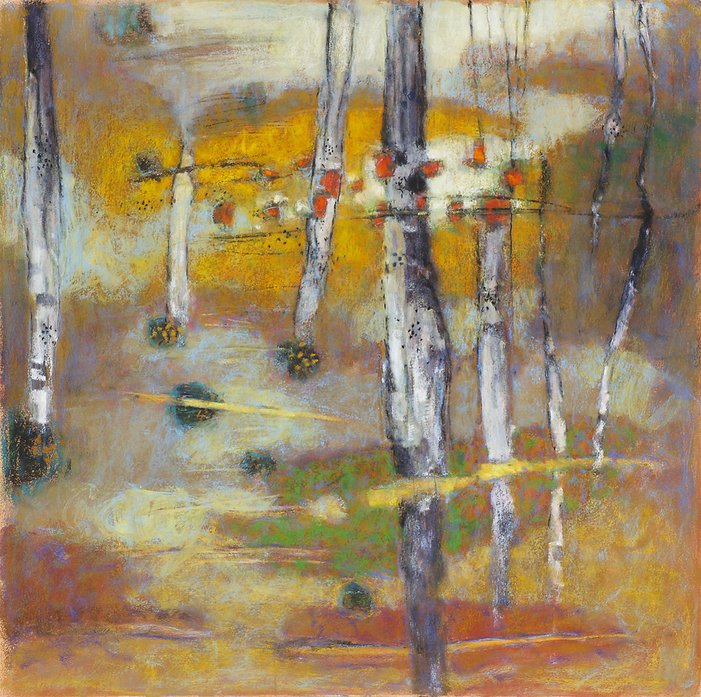 Integrated Sequences   | pastel on paper | 24 x 24"