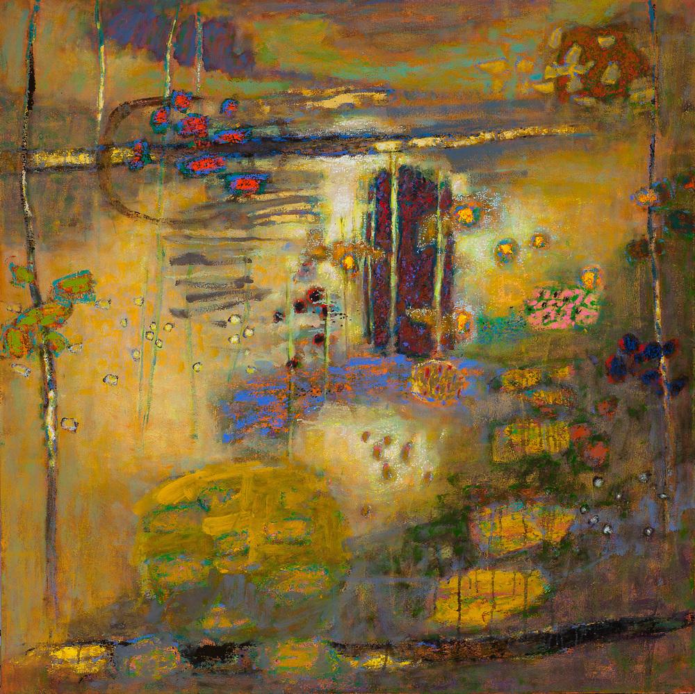 "Mystic Solitude   | oil on canvas | 48 x 48"" | 2015"