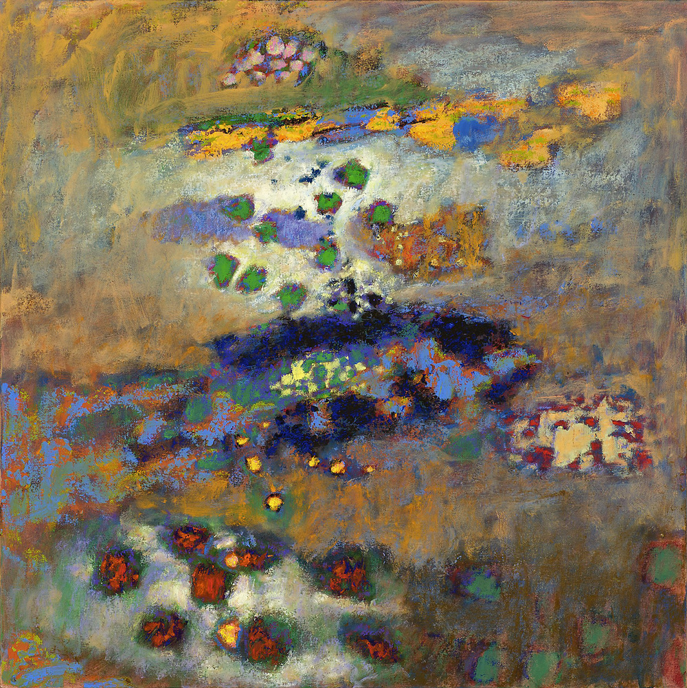 The Reflecting Pool   | oil on canvas | 32 x 32"