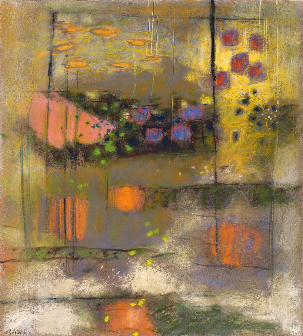 Connected Voices   | pastel on paper | 20 x 18"