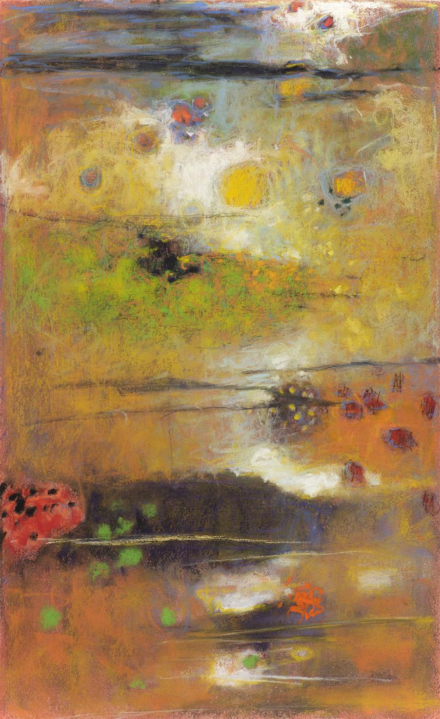 "38-11   | pastel on paper | 17 x 10"" | 2011"