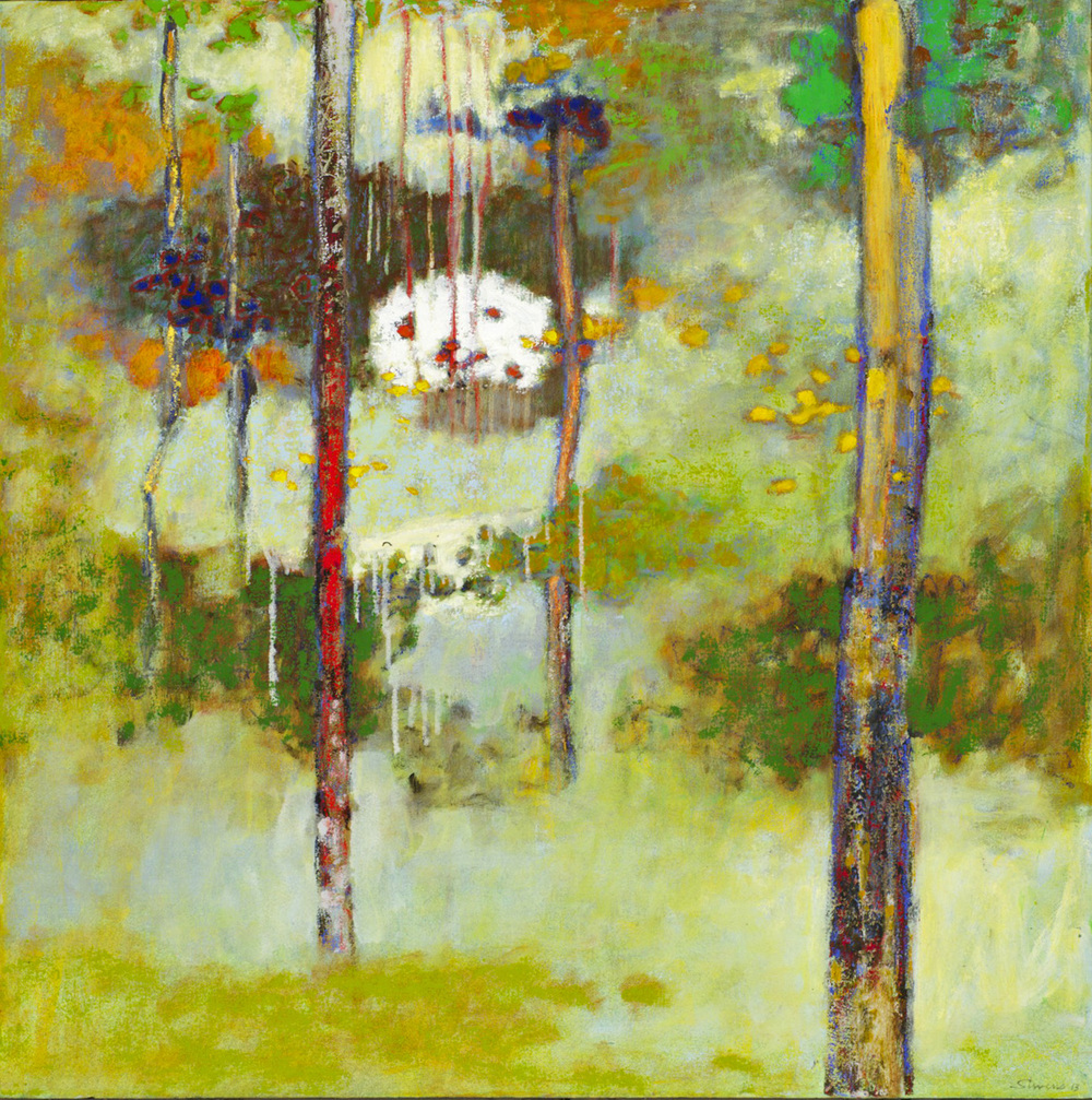 Trekking Towards A Memory   | oil on canvas | 32 x 32"