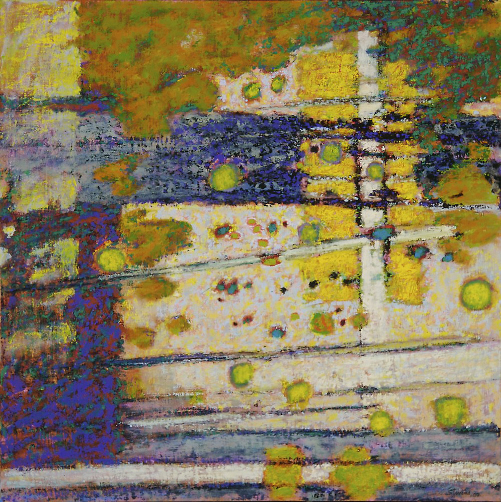 Vestige of Flight | oil on linen | 28 x 28"