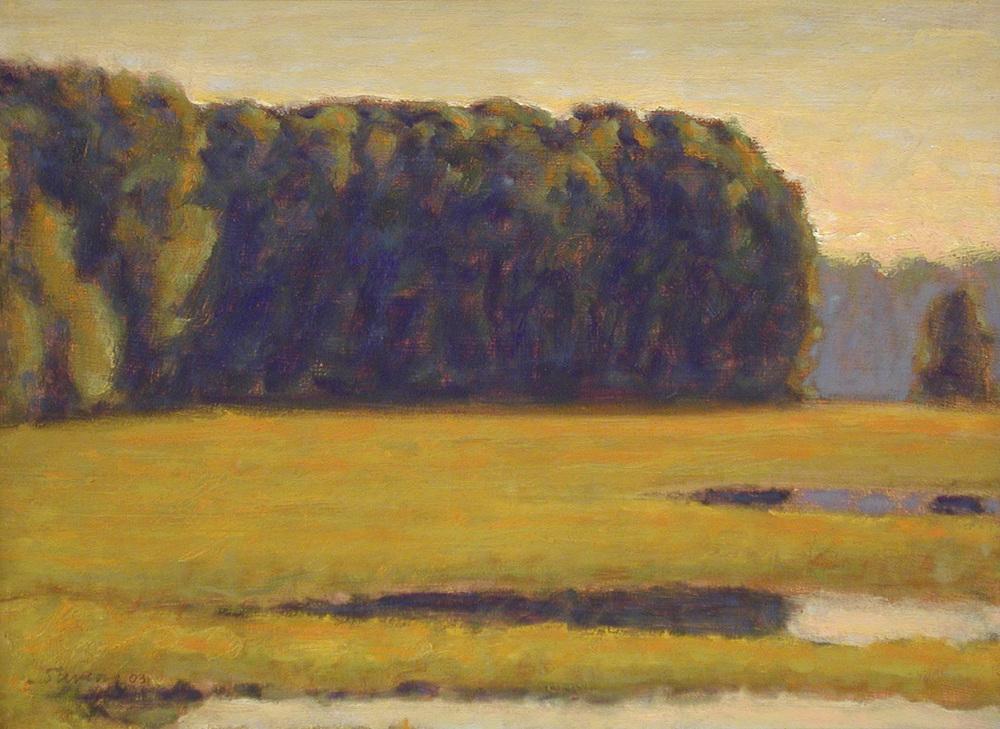 "116-03 | oil on panel | 12 x 16"" | 2003"