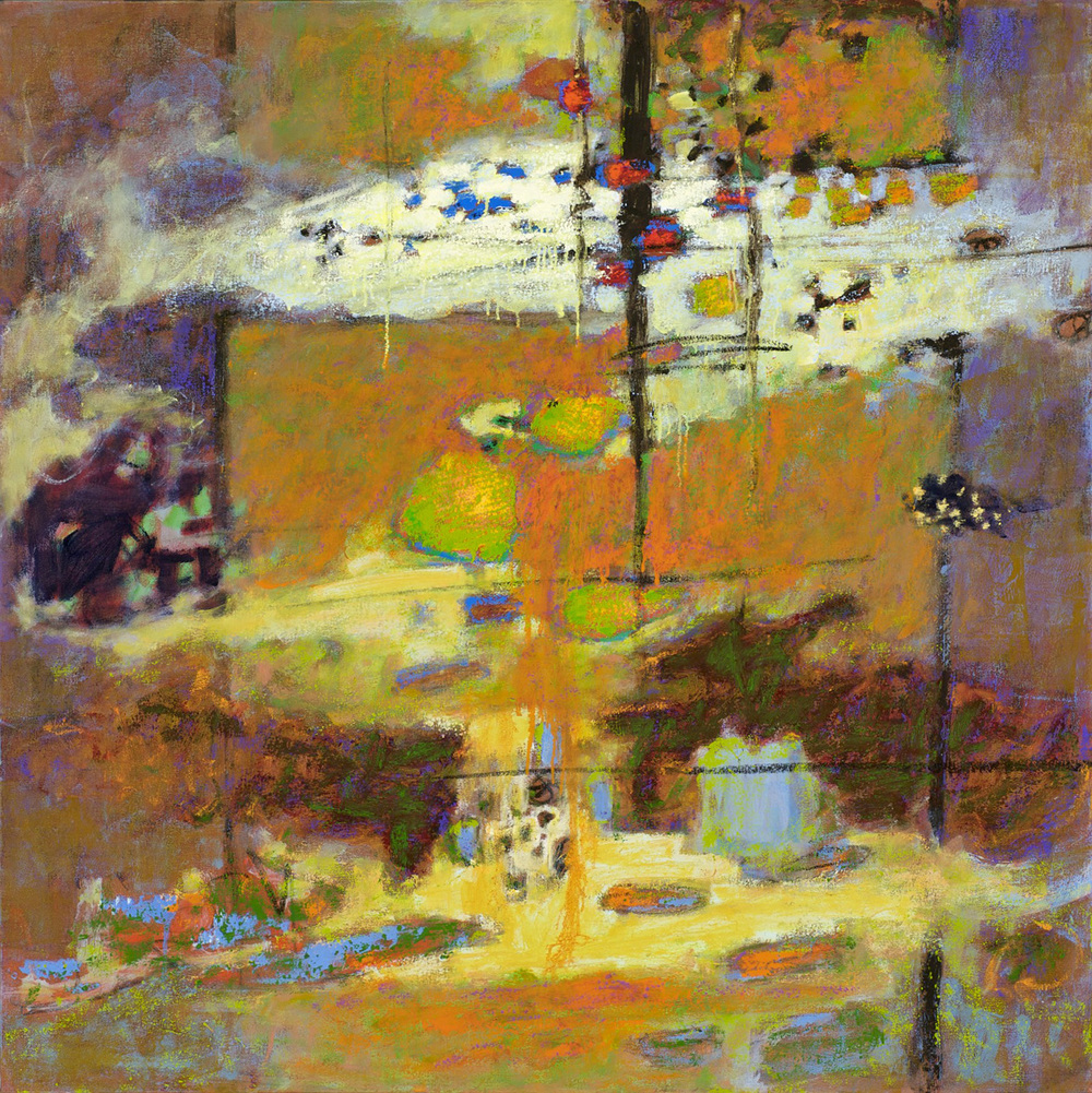 Your Light is My Guide | oil on canvas | 48 x 48"