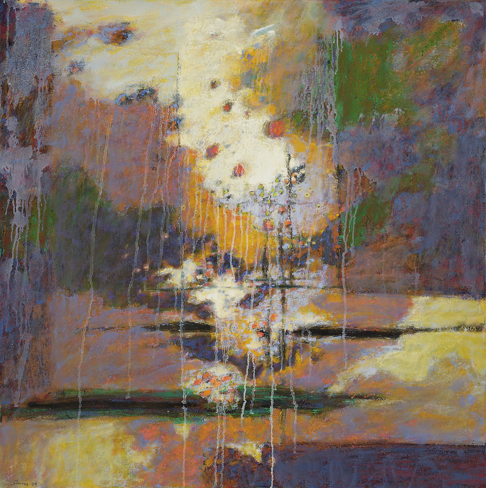 Thermals   | oil on canvas | 36 x 36"