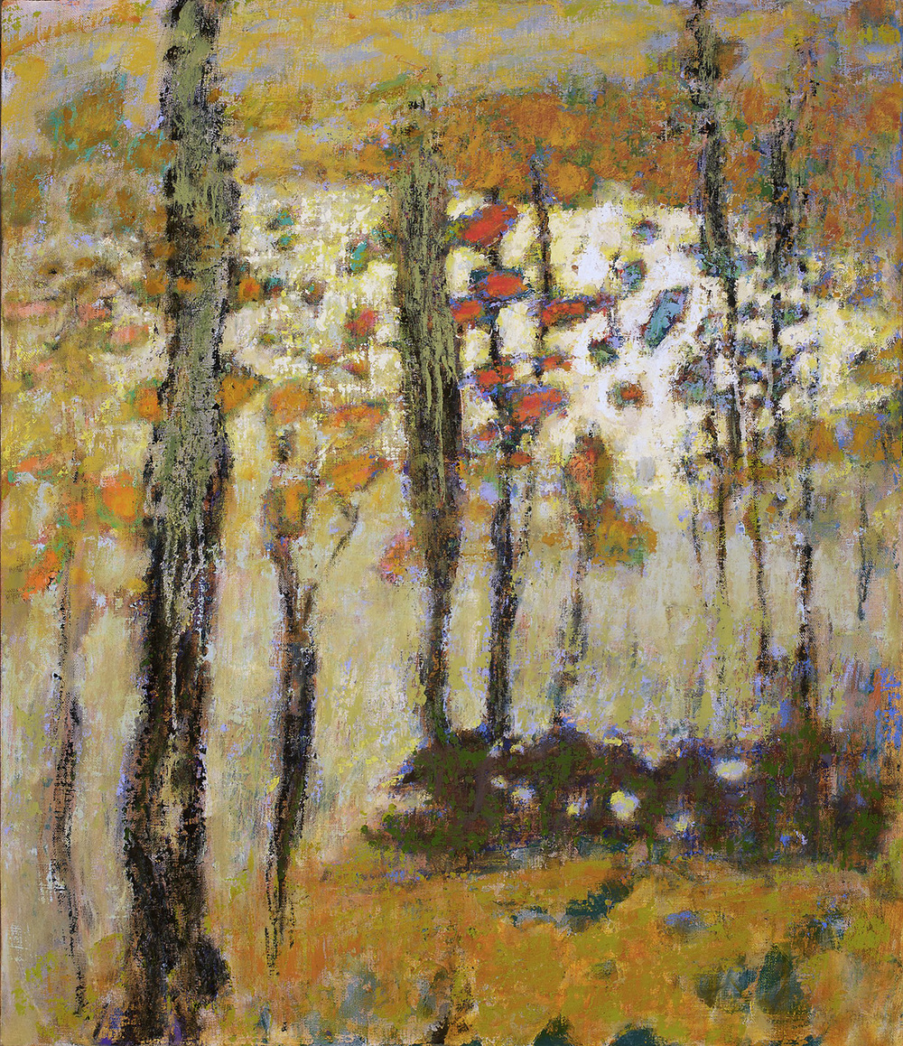 Veiled Landscape   | oil on linen | 28 x 24"