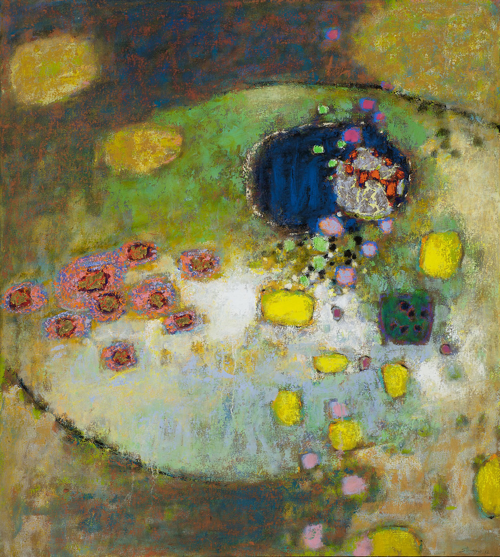 Embracing Uncertainty   | oil on canvas | 40 x 36"
