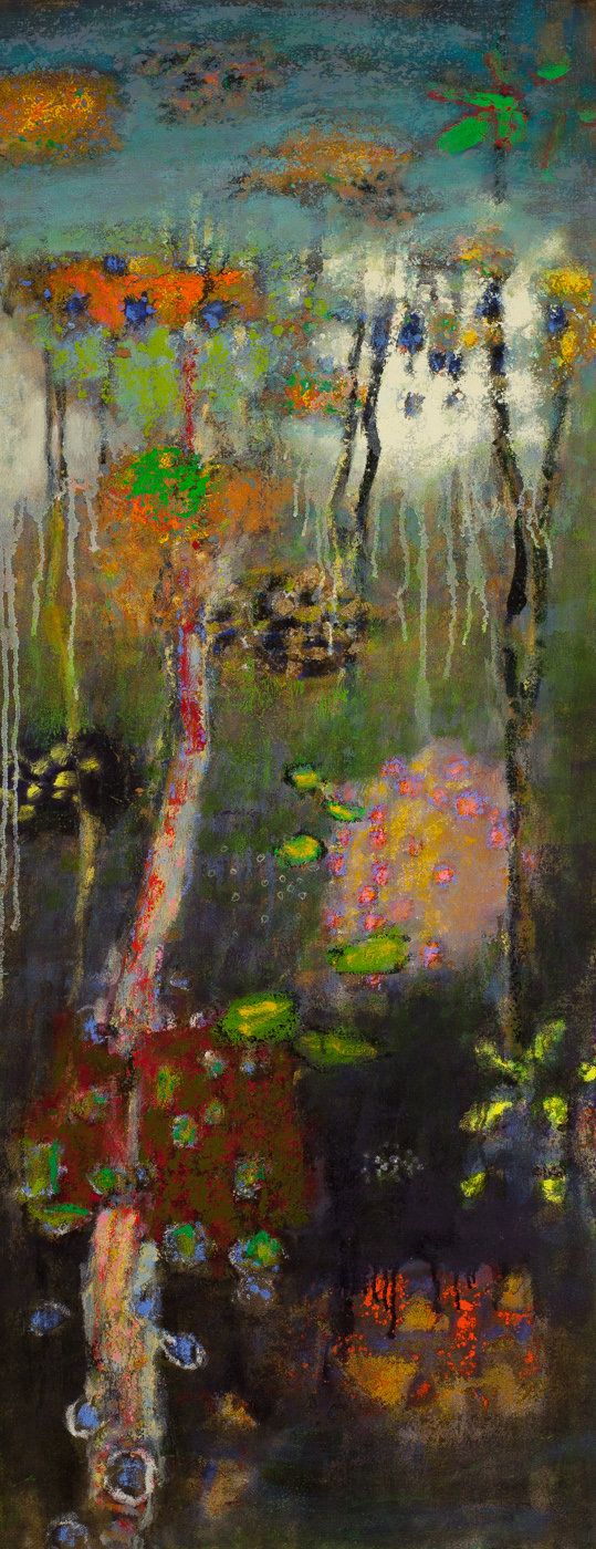 Dream Logic | oil on canvas | 48 x 19"