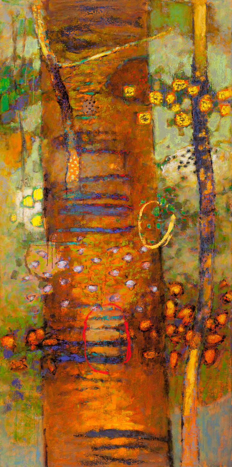 Inner Witness   | oil on canvas | 72 x 36"