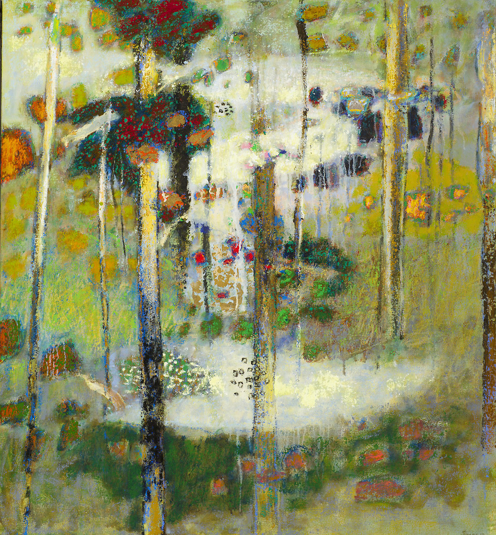 The Laws of Nature Are Not Fixed   | oil on canvas | 40 x 36"