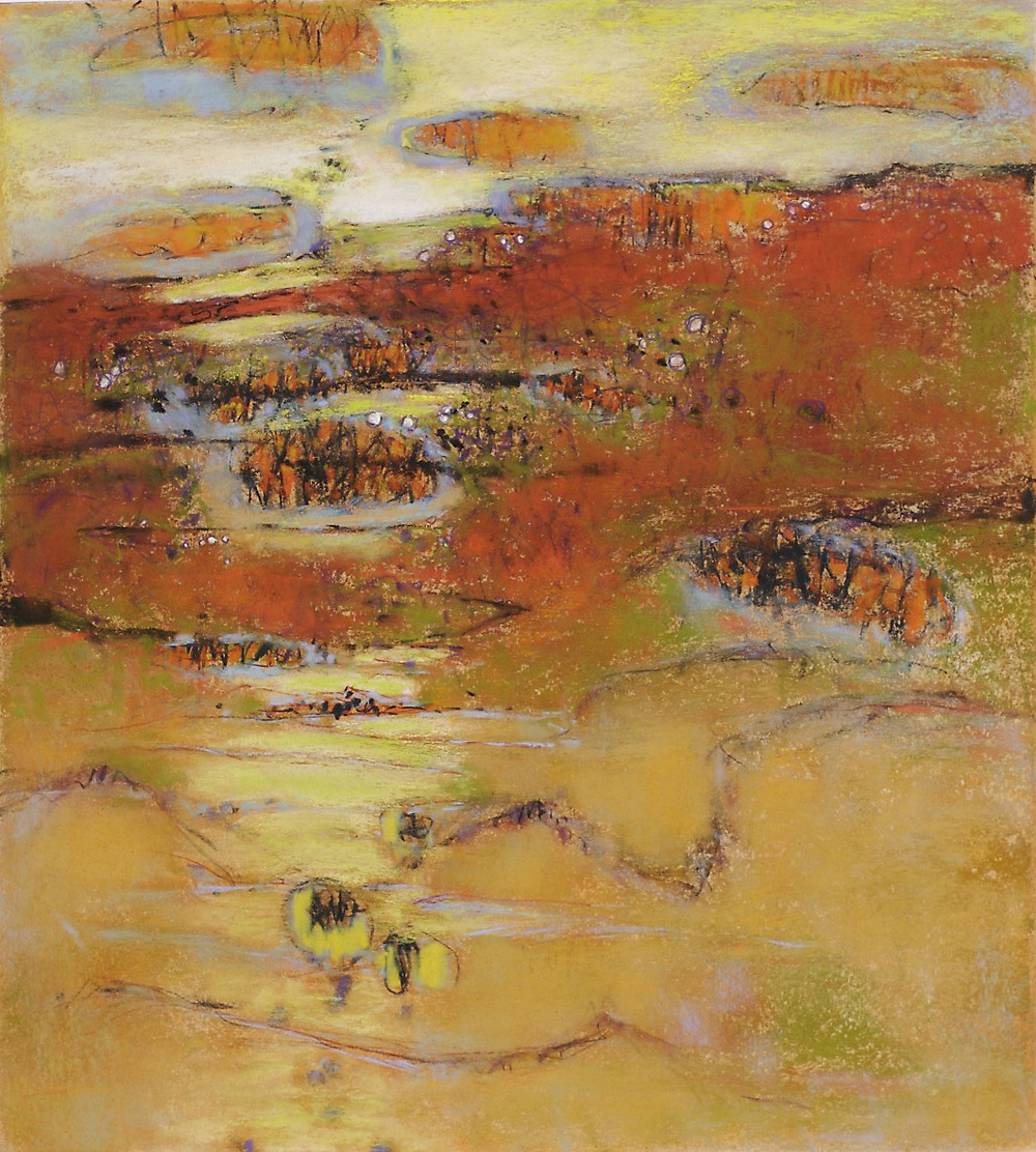Hike on the Mesa   | pastel on paper | 20 x 18"