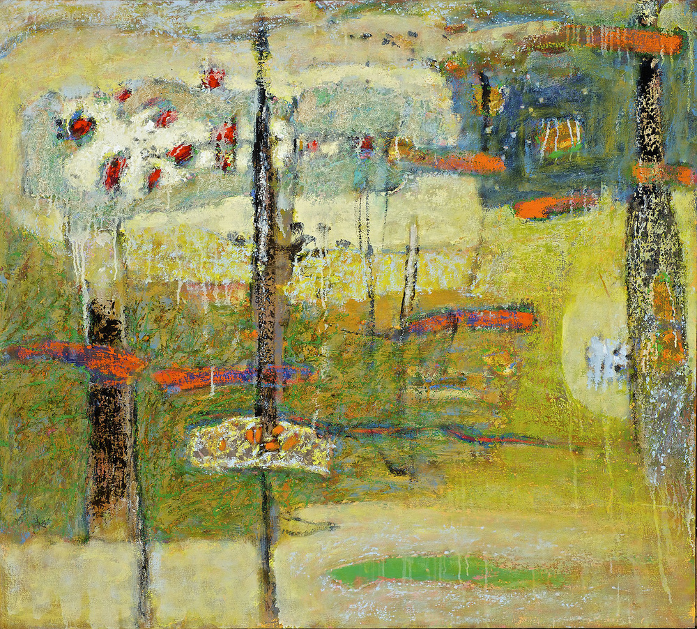 Another World Inside   | oil on canvas | 36 x 40"