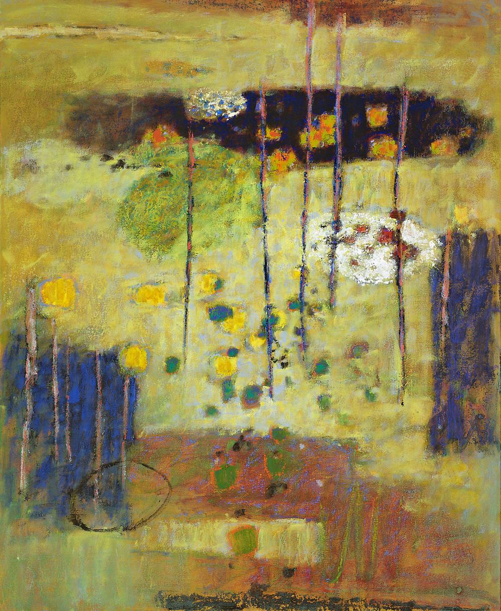 """Congruence     oil on canvas   44 x 36""""   2011"""