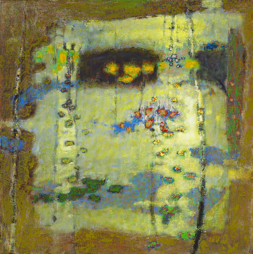 "Conception Vessel   | oil on canvas | 32 x 32"" | 2012"