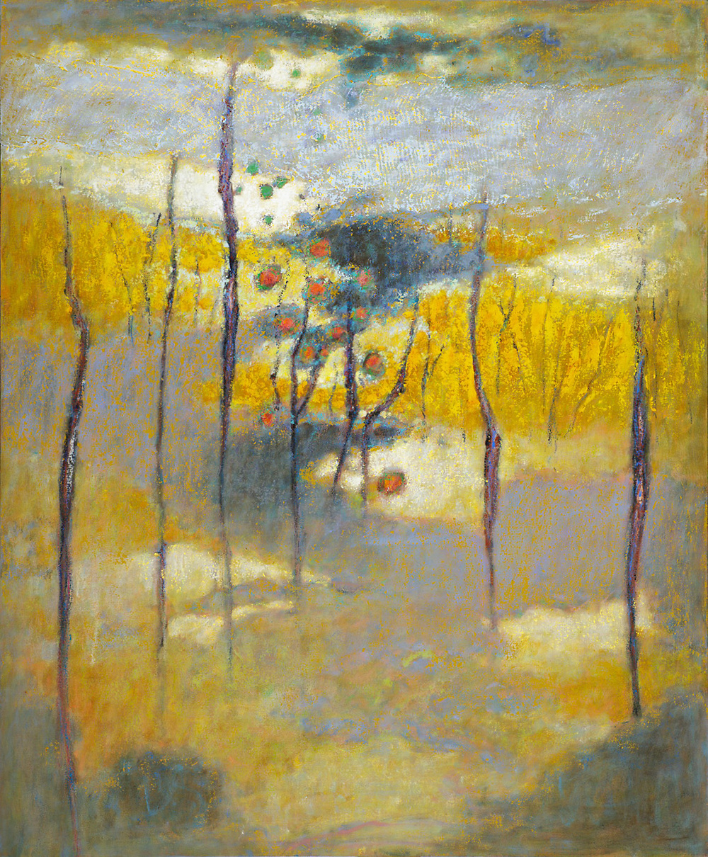 Ascension   | oil on canvas | 58 x 48"