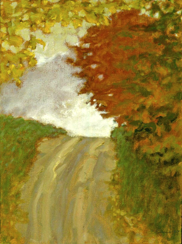 Hayes Road | oil on canvas | 16 x 12"