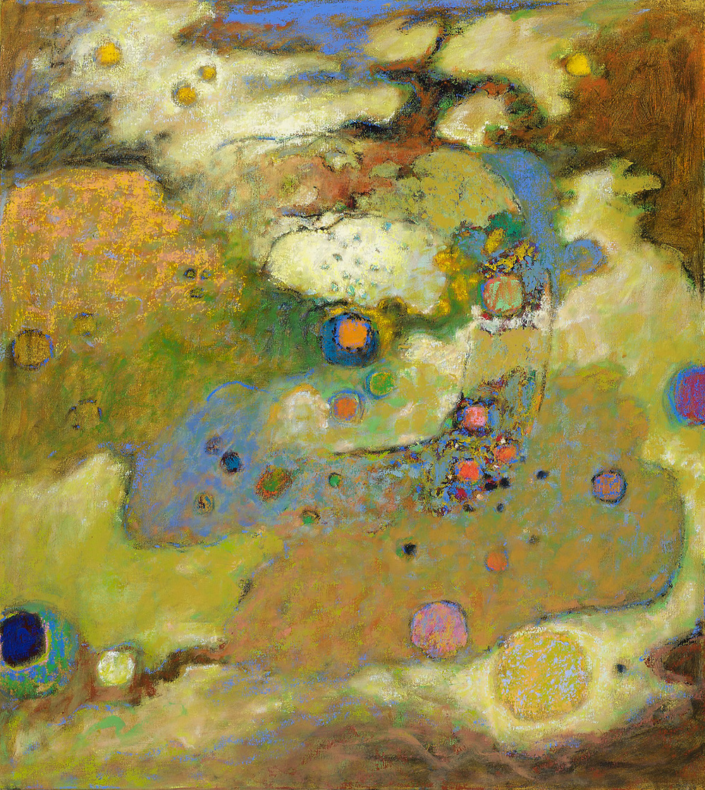 Into the Infinite | oil on canvas | 40 x 36"