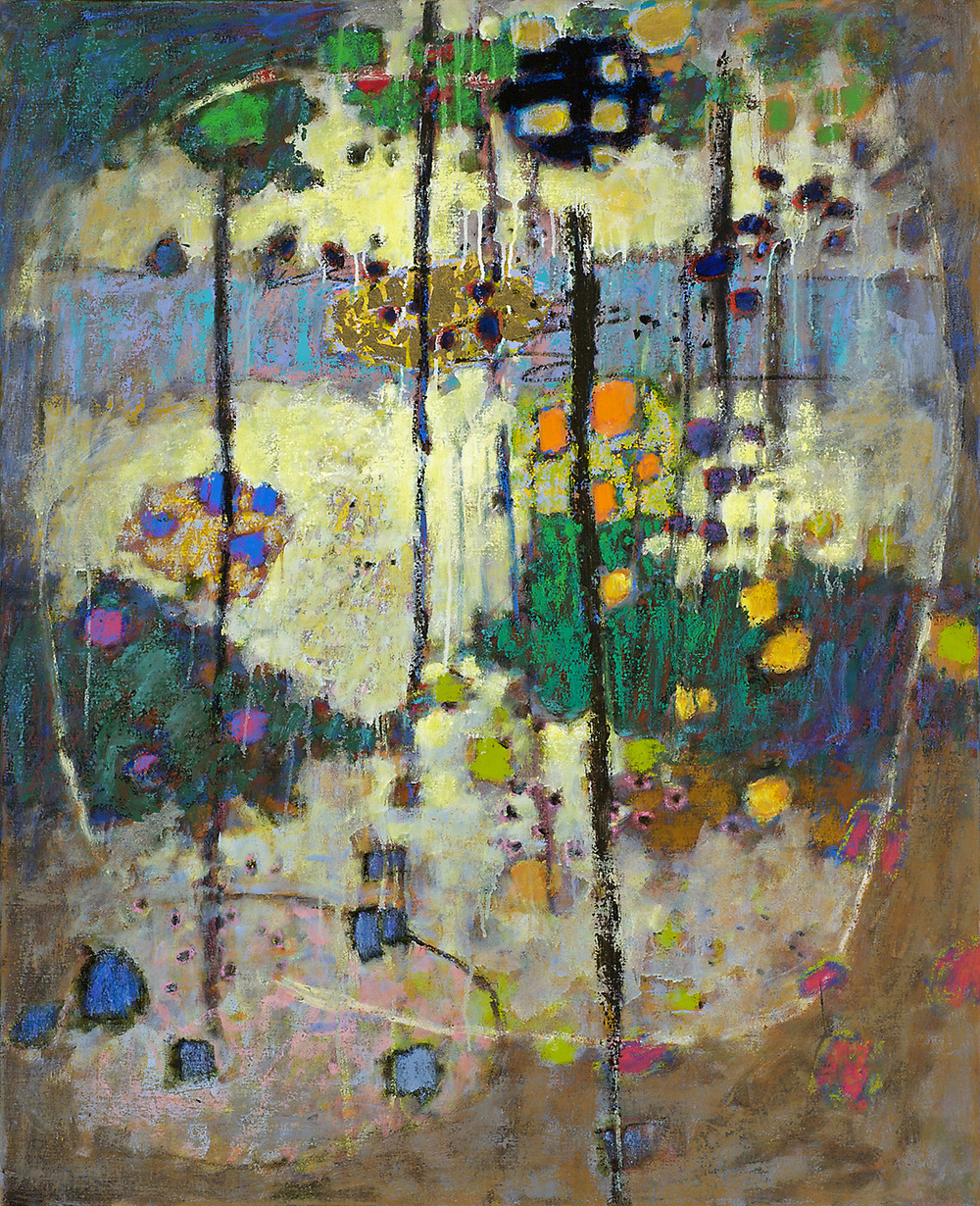 Escaping Gravity   | oil on canvas | 44 x 36"