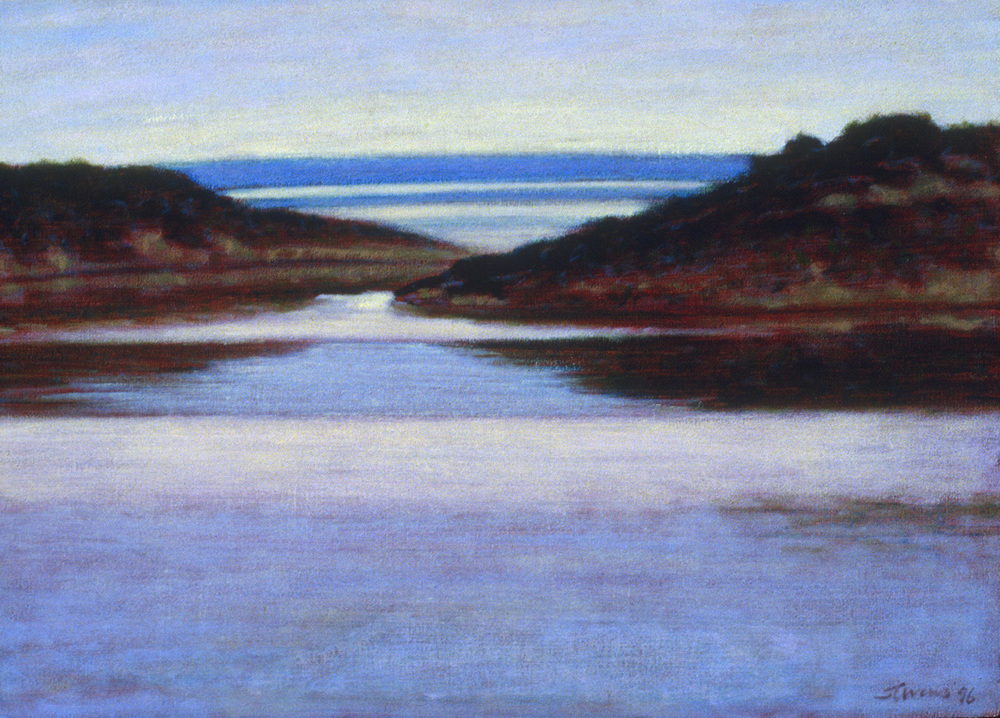 North Bar Lake   | oil on canvas | 12 x 17"