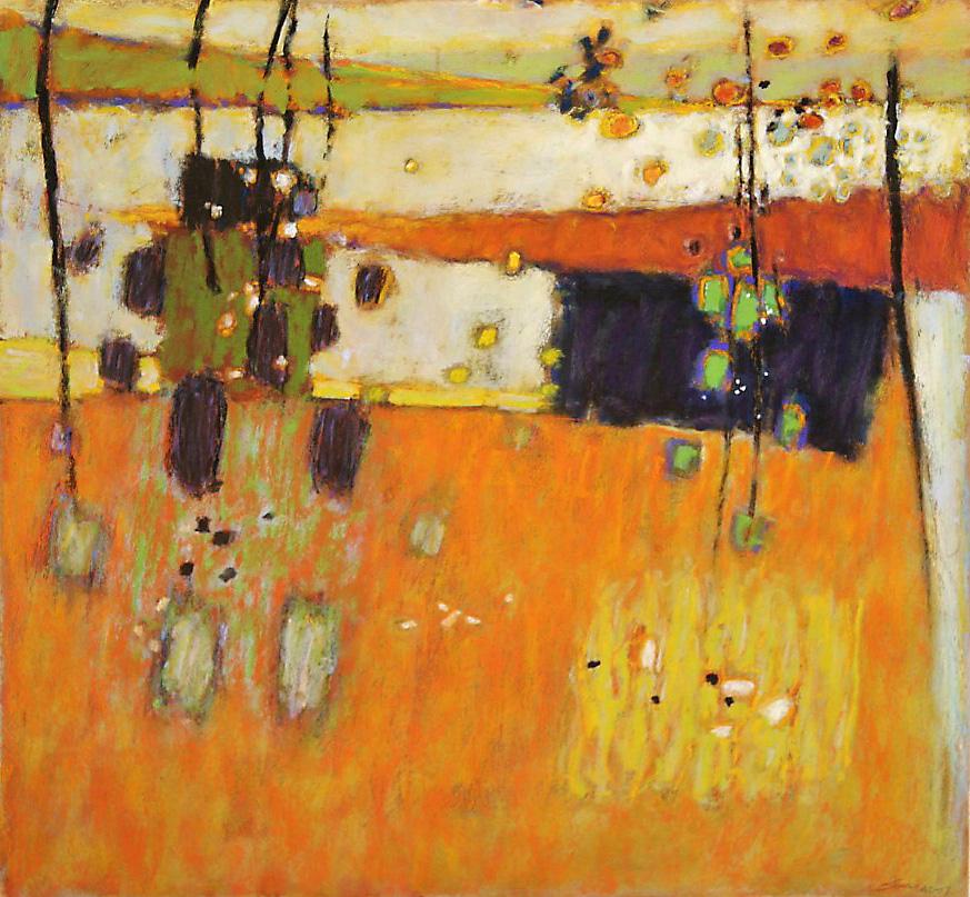 "Safe Passage   | pastel on paper | 24 x 26"" | 2007"