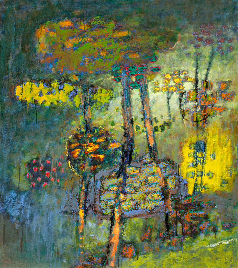Tranquility in Motion   | oil on canvas | 54 X 48"