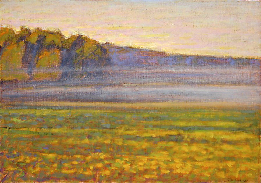 Morning Mist   | oil on linen | 14 x 20"