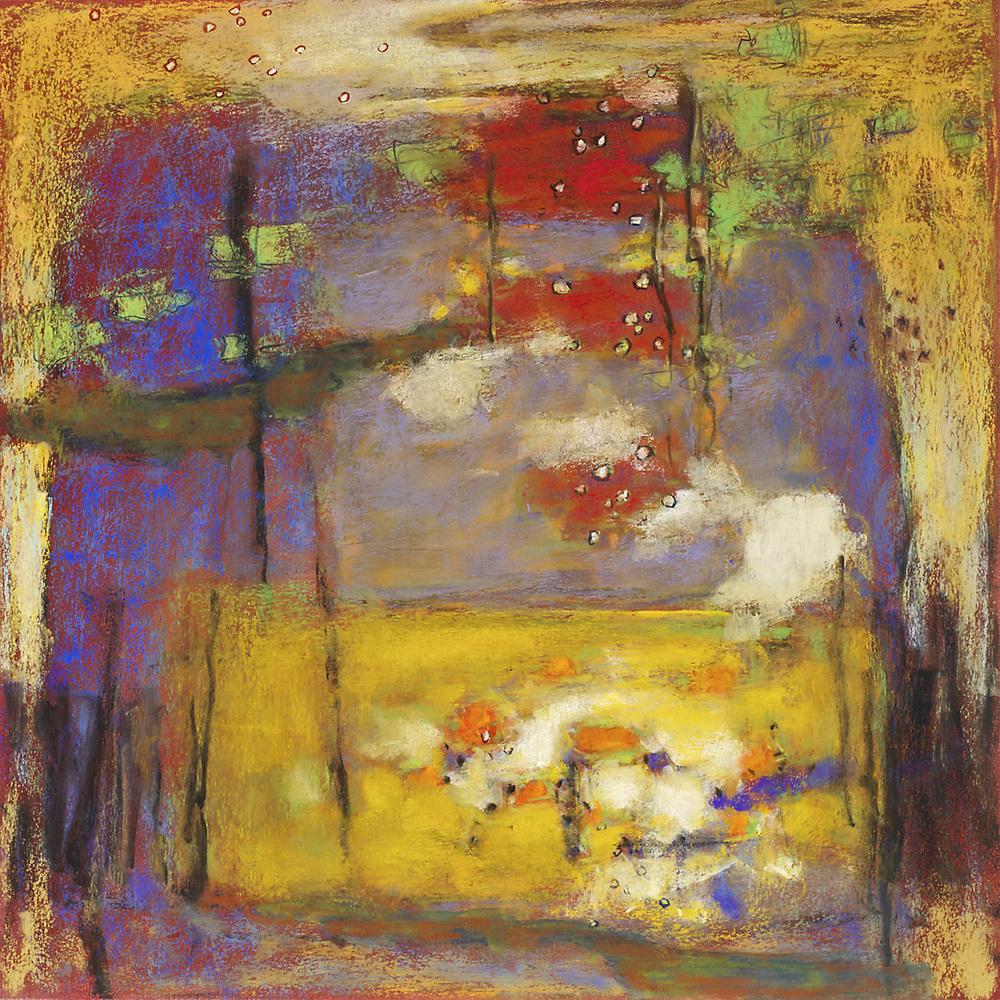 "16-14   | pastel on paper | 14 x 14"" | 2014"
