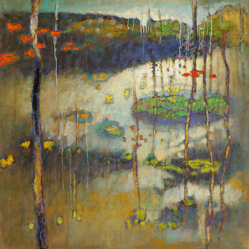 Groundless Place | oil on canvas | 48 x 48"
