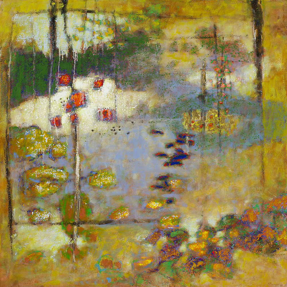 At the Dream's Door   | oil on canvas | 36 x 36"