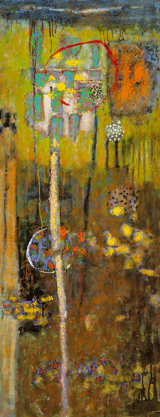 Passing Through Time | oil on canvas | 48 x 19"